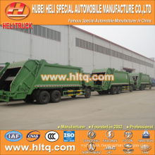 DONGFENG 6x4 16/20 m3 heavy duty garbage collecting truck diesel engine 210hp with pressing mechanism