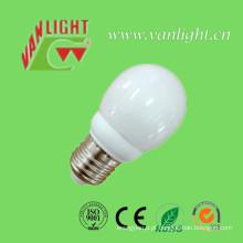 Tipo mini globo forma CFL 7W (VLC-MGLB-7W)