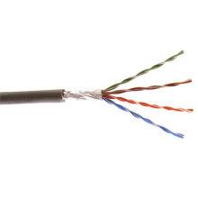 FTP Cat5e Ethernet Kabel mit Solid Bare Kupfer und CCA