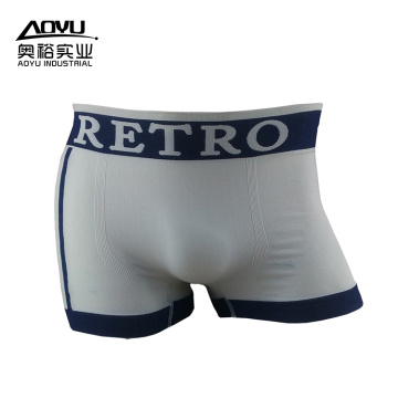 Échantillon gratuit Nylon Cotton Men Underwear Boxer Shorts