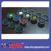 Mais quentes coloridos promocionais 5mm neodímio ímã esferas bola magnética