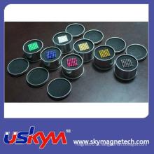 Самые горячие цветастые выдвиженческие магниты шарика неодимия 5mm магнитные