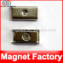 square magnet with holder
