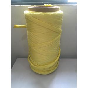 Yellow Color Flame Retardant PP Cable Filler Yarn