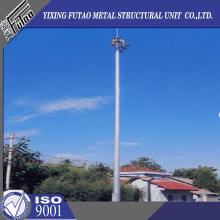10 Years for High Mast Lighting Pole, 30m High Mast, High Mast Poles, Led High Mast Lighting, High Mast Street Lights Leading Manufacturers 21M High Mast Lighting Poles supply to Swaziland Factory