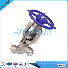 High quality products of union bonnet type globe valve