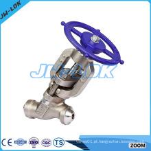 Produtos de alta qualidade de válvula de globo tipo capota