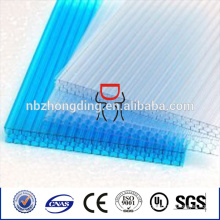 4-wall honeycomb colored polycarbonate sheet