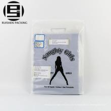 Bolsos de compras cortados con tintas plásticos del HDPE para la ropa