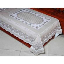 Toalha de Mesa Comprida em PVC (JFTB-309B-Brown)