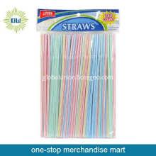Dollar Items of 180pc Plastic Drinking Straws