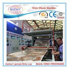 Linha da folha de mármore do PVC de 1220mmx2440mm