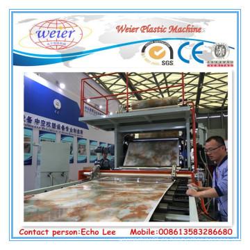 Línea de hoja de mármol PVC 1220mm x 2440 mm