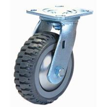Rodízio giratório Flip PU (cinza)