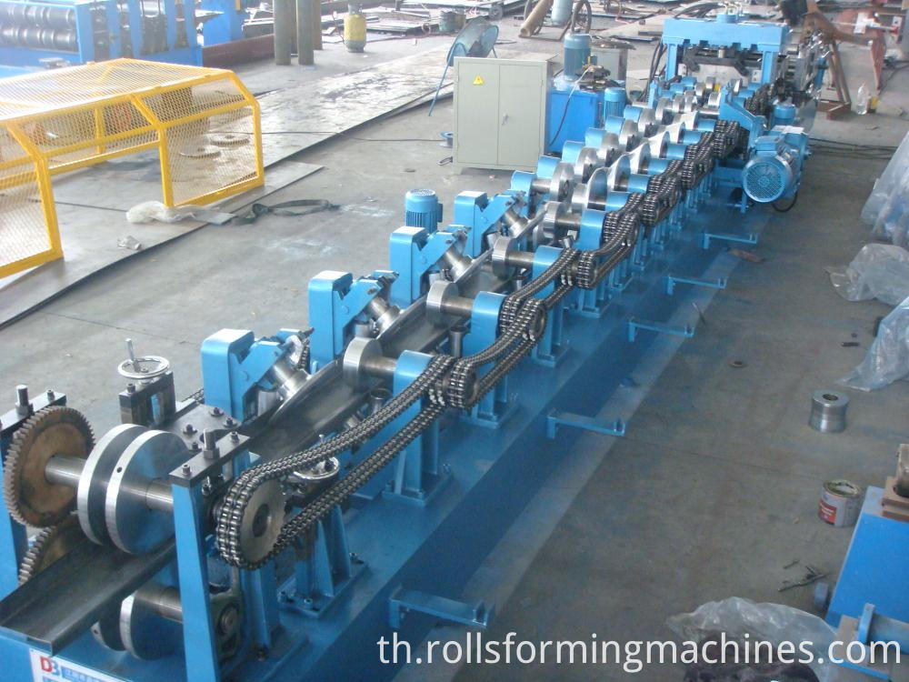 C Z U Purlin Steel Cold Roll Forming Unit