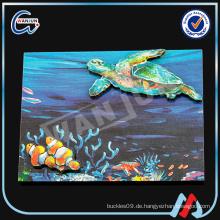 2D ULUA Fischform Kühlschrankmagnet