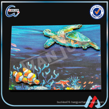 2D ULUA fish shape fridge magnet