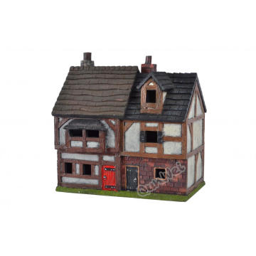 100% Original Factory for Quality Resin Poly Dollhouse 1/12 scale lovely design resin poly dollhouse supply to Indonesia Factories