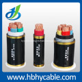 Low Voltage 95mm2 4 Cores XLPE Insulated PVC Sheathed Armoured Power Cable , Factory Directly Sales