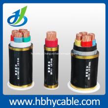 3.6 / 6kv-26 / 35kv 2.5mm cabo de alimentação isolado XLPE