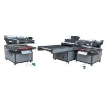 TM-Z3 automatische Siebdruckmaschine mit UV-Trockner-Maschine
