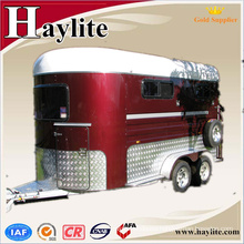 China horse box trailer with windows