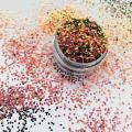 camaleón chunky glitter, glitter de cambio de color