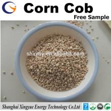 Natural abrasive 8 mesh corn cob grit