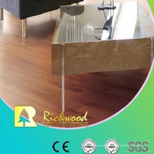 Plancher en stratifié U-rainuré par noix de la publicité 8mm E1 HDF