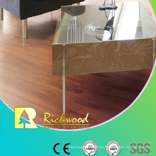 Commercial 8.3mm E1 HDF Embossed Walnut U-Grooved Laminate Floor