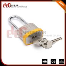 Elecpopular Top Verkauf von Produkten in Alibaba gelb Laminated Steel Vorhängeschloss