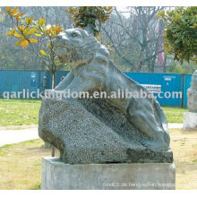 Lovely Tiger Stone Carving