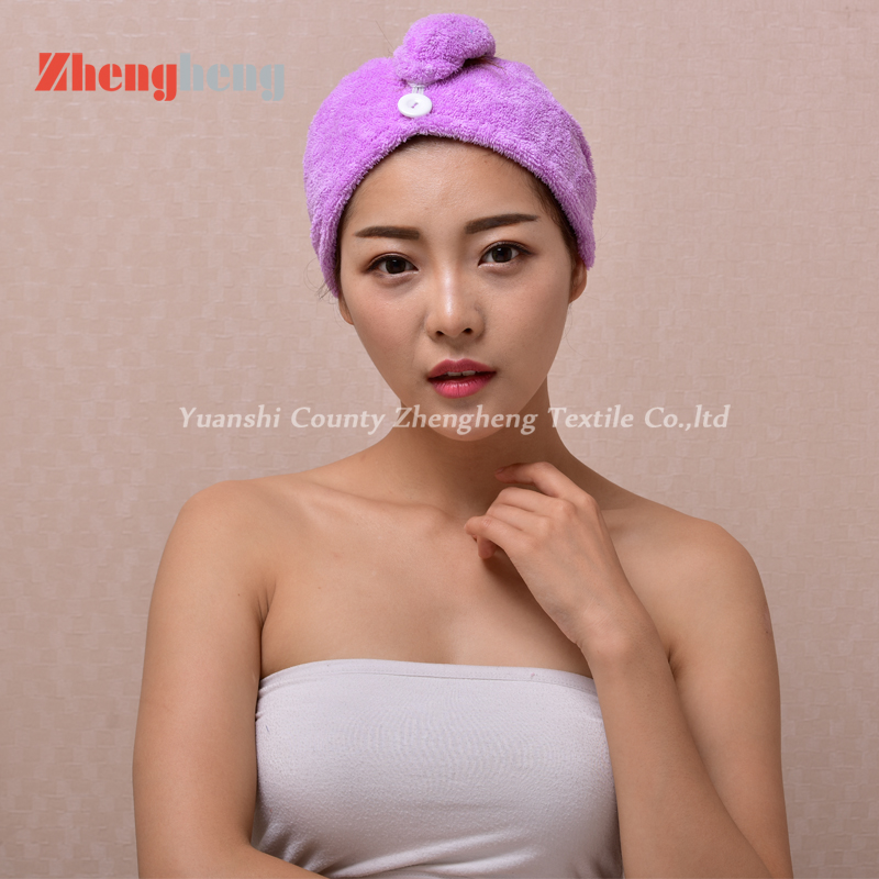 Coral Fleece Hair Cap (3)