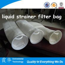 0,5 micron sentiu filtro líquido filtro saco com anel de plástico