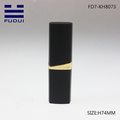 Hot-sale black empty plastic cosmetic lipstick tube