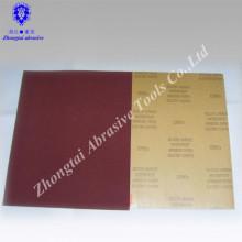 Papier de verre électro-laqué DEERFOS CCM66 de 9 po x 11 po