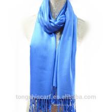 TS-014 100 Viskose Schal Volltonfarbe Viskose Schal Schal für Frau Hijab Fabrik in China Lieferant Alibaba China
