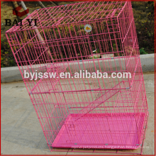 Factory Price Wholesale Outdoor And Indoor Folding Large Metal Pet Cat Cage