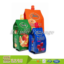 Starker Dichtungs-Leckage-Beweis 2L, 1L, 500ML Kundenspezifisches lamelliertes Material-Getränke-Flüssigkeits-Beutel-Tasche mit Tülle