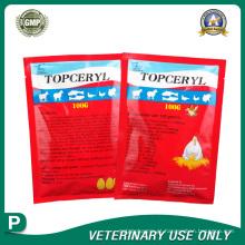 Medicamentos Veterinários de Erythromycin thio Oxytetracycline Powder (100g)