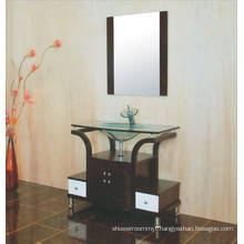 Glass Basin Bathroom Cabinet (B-609)