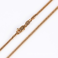 2014 Fashion Gold Snake Necklace for Man