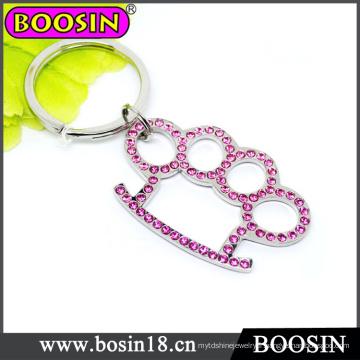 Porte-clés mignon de patte de chien / porte-clés de patte d'animal pour le cadeau de promotion