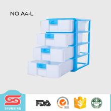 shunxing gabinete de almacenamiento de plástico barato material de alta calidad con cerradura