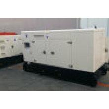 Generador diesel silencioso del generador CUMMINS del poder CUMMINS de la potencia de 100kVA 80kw