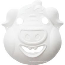 niños del cerdo DIY artesanías que pintan la máscara facial del partido animal