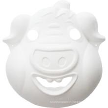 Cochon enfants bricolage artisanat peinture animal partie visage masque