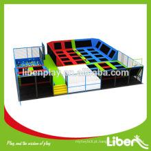 Parque de diversões Indoor Sky Zone Indoor Trampoline Park para promoção