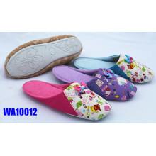 Partes superiores de las mujeres Joggled zapatillas de interior Scafo