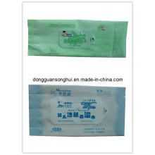 Wet Tissue Bag/Tissue Packaging/Self Label Tissue Bag